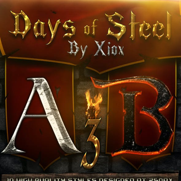Days of Steel -Style Pack 3-