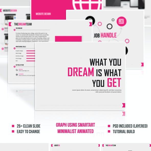 Wydiwyg - Modern, Simple, & Clean Presentation
