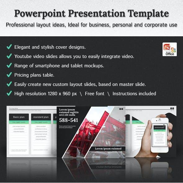 Hexagon - Powerpoint Presentation Template