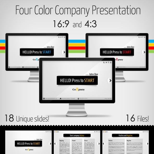 Clean and Modern Company Presentation