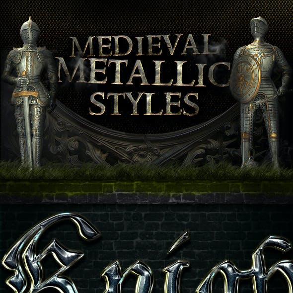 Metallic Medieval Styles