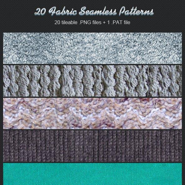 20 Fabric Seamless Patterns