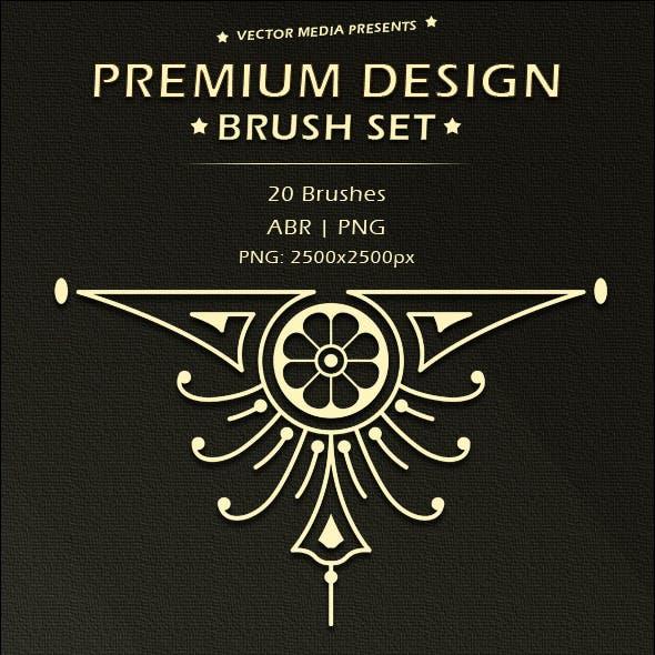 Premium Design - Brush Set