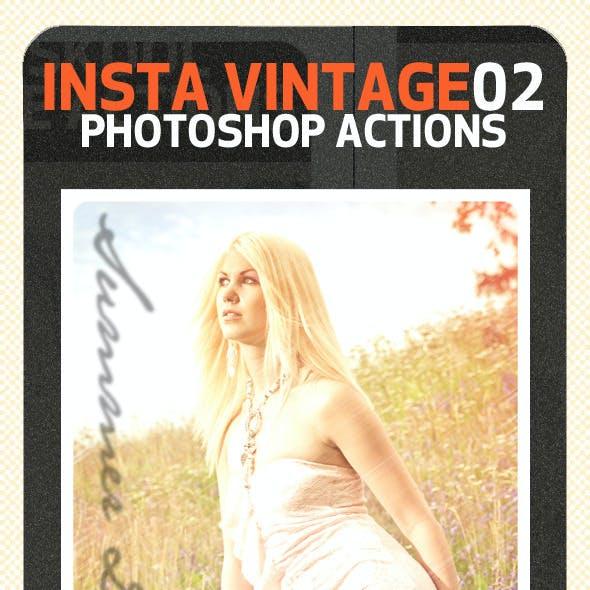 INSTA Vintage Photoshop Actions (ATN)#2