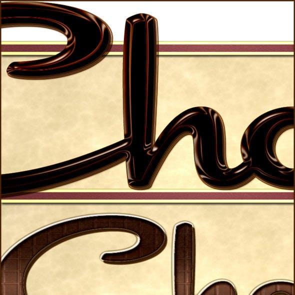 Chocolate Layer Style