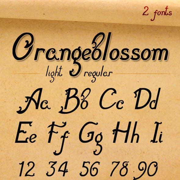 Orangeblossom-Font