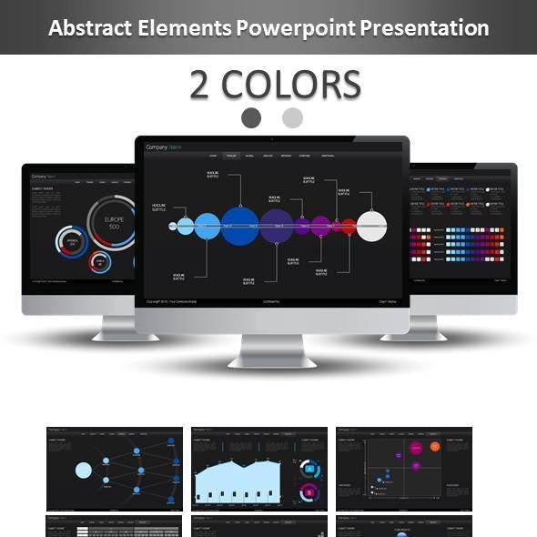 Abstract Elements Powerpoint Presentation