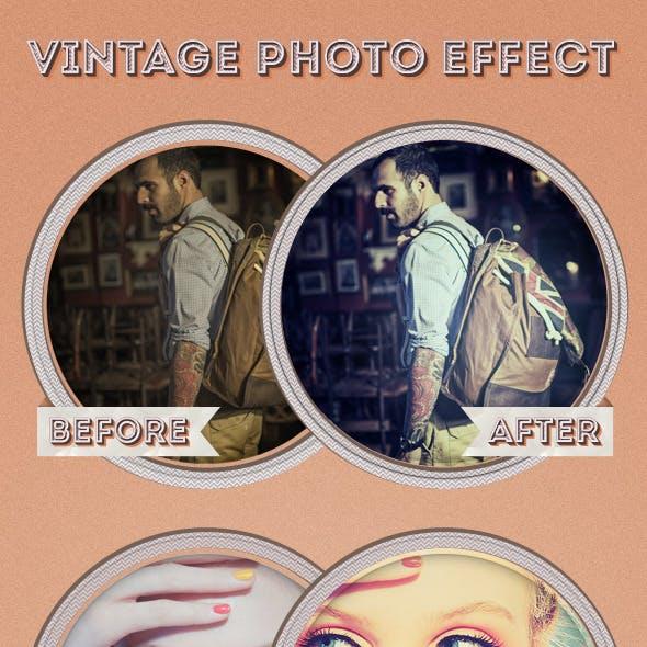 My Vintage Photo Effect