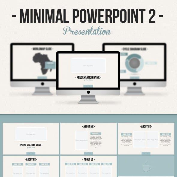 Minimal Powerpoint 2