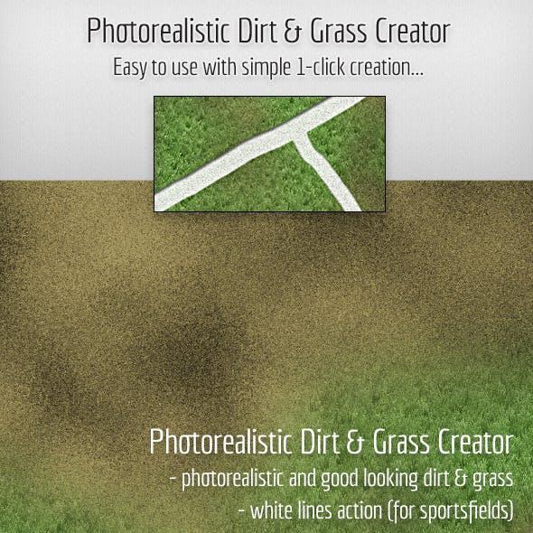 Photorealistic Dirt & Grass Creator