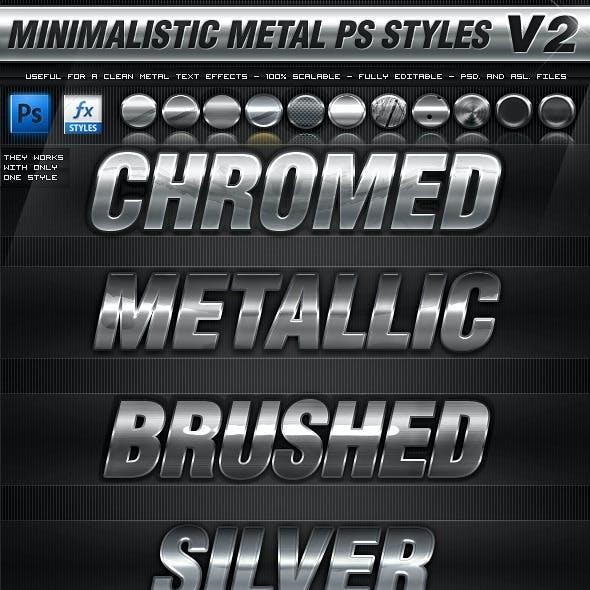 Minimalistic Metal Styles V2