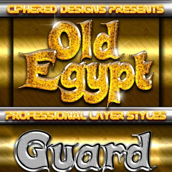 Old Egypt - Professional Layer Styles