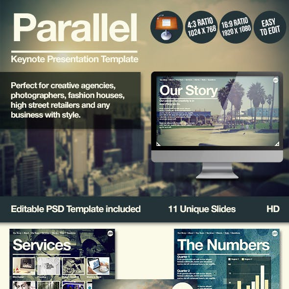 Parallel Keynote Presentation Template