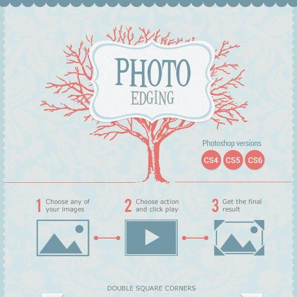 Photo Edging