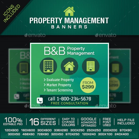 Property Management Banners