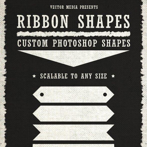 Ribbon Shapes - Custom Shapes