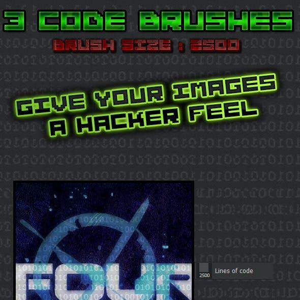 3 Brush Code Set