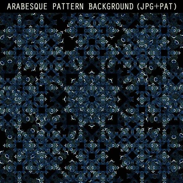 Arabesque Pattern Background