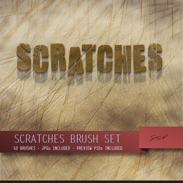 50 Scratches Brush Set