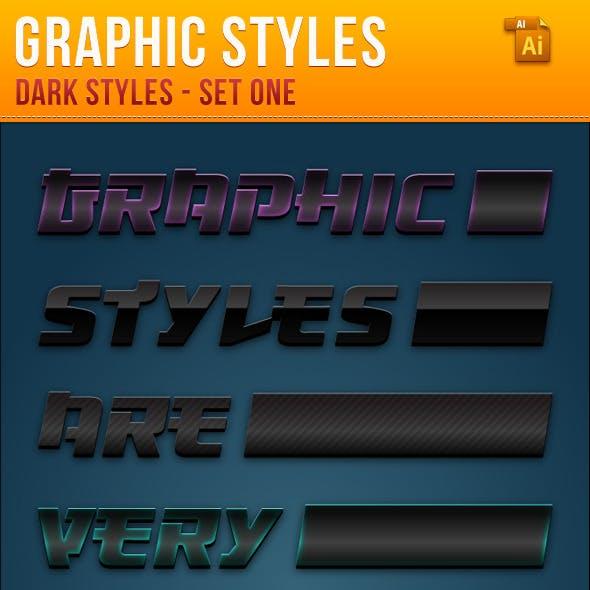 Dark Styles For Illustrator