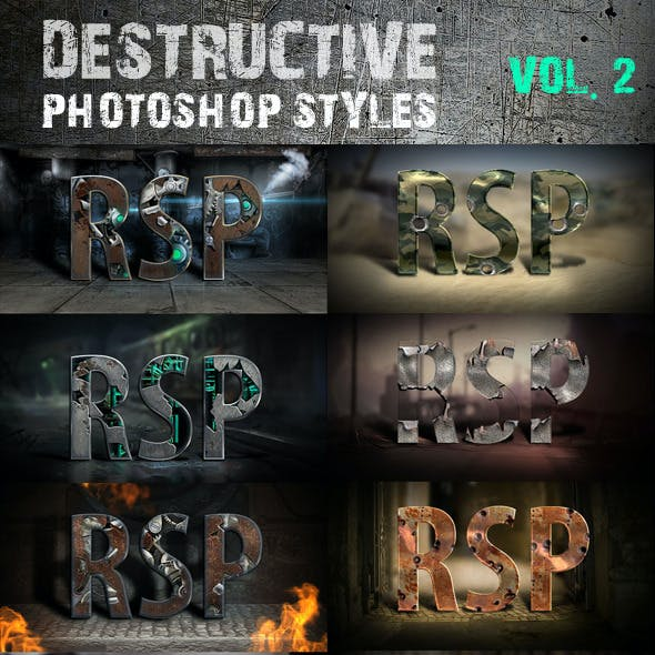 Destructive Styles Vol. 2