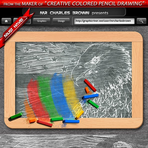 Pure Art Chalk Drawing