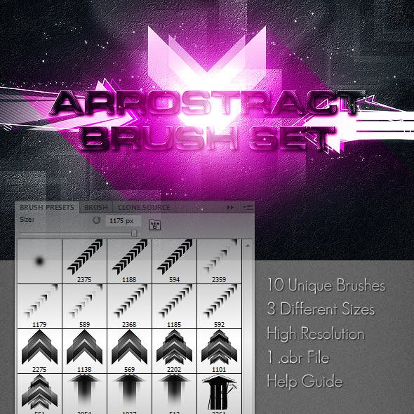 Arrostract Brush Set