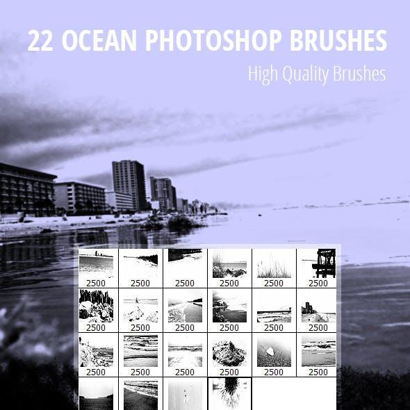 22 Ocean Photoshop Brushes
