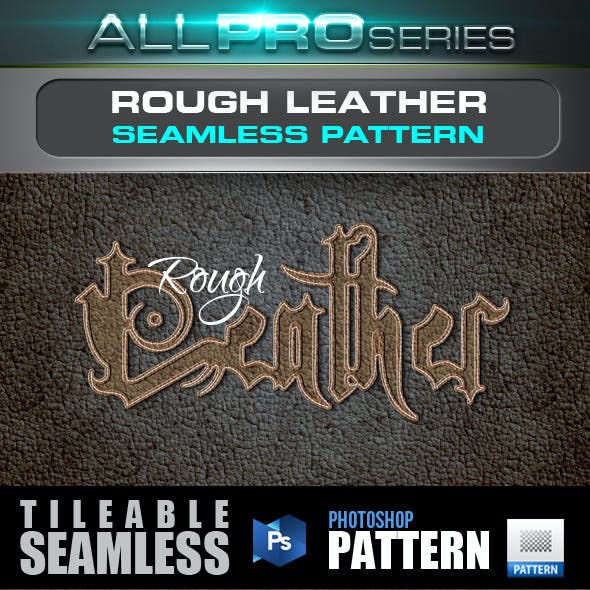 Rough Leather Seamless Pattern