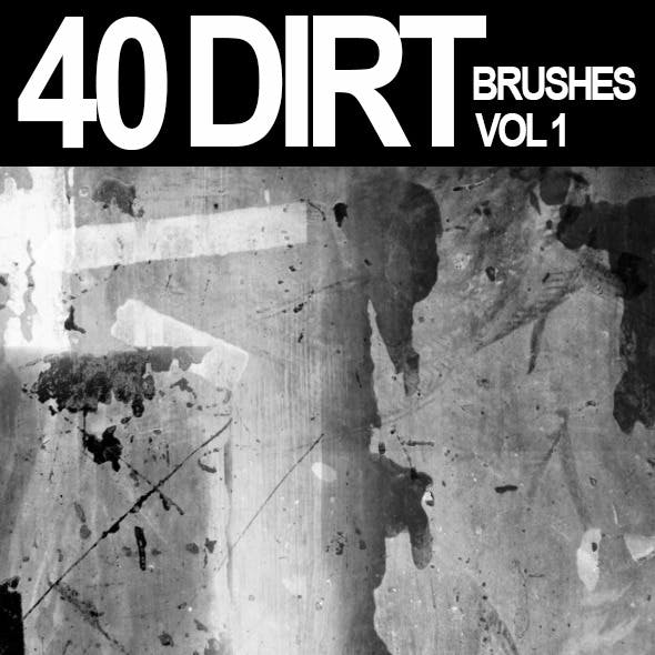 40 Dirt Brushes