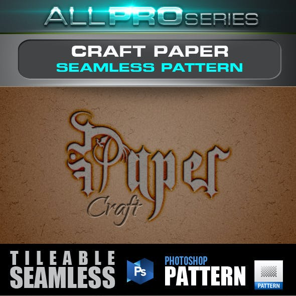 Craft Paper Seamless Tileable Pattern