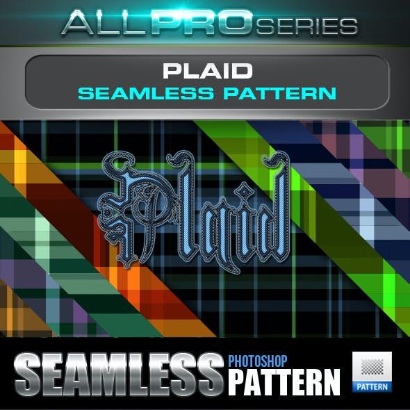 Plaid Tartan Seamless Tileable Pattern