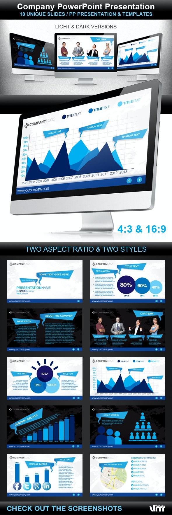 Company Powerpoint Presentation - PowerPoint Templates Presentation Templates
