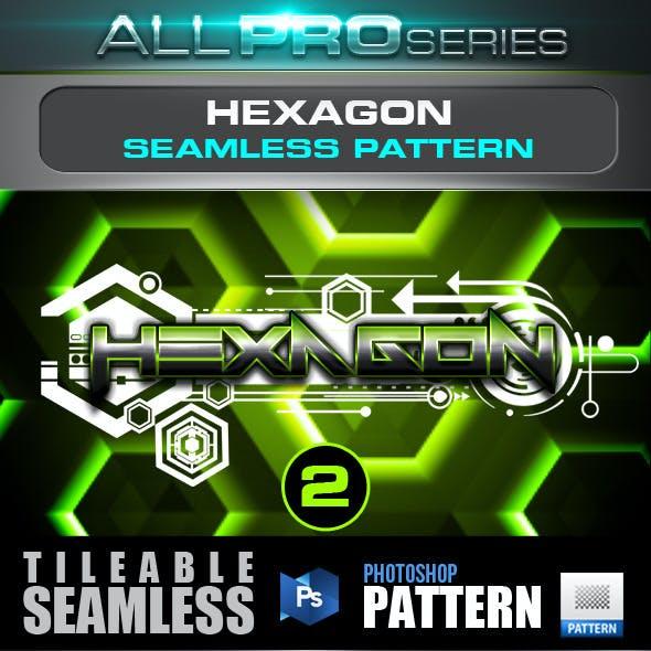 Hexagon Seamless Tileable Pattern Vol.2