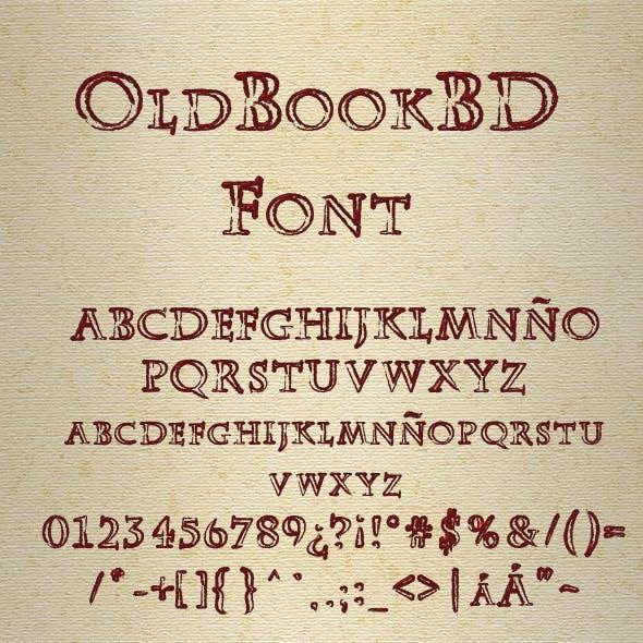 OldBookBD Blank Font