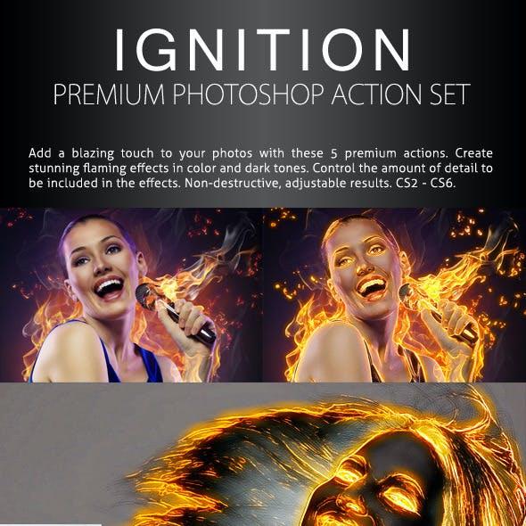 Ignition - Premium Photoshop Action Set