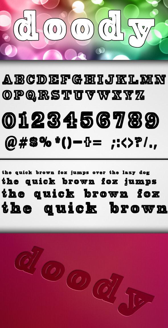 Doody Font