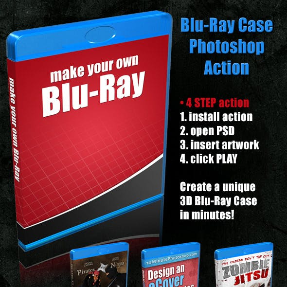Blu-Ray Case Action Script