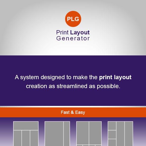 Print Layout Generator