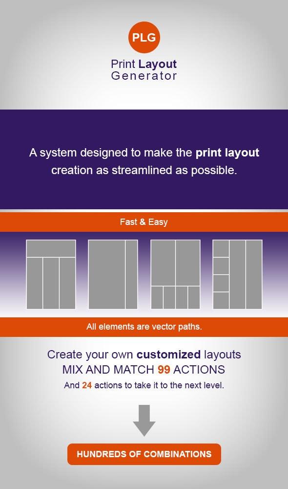 Print Layout Generator - Utilities Actions