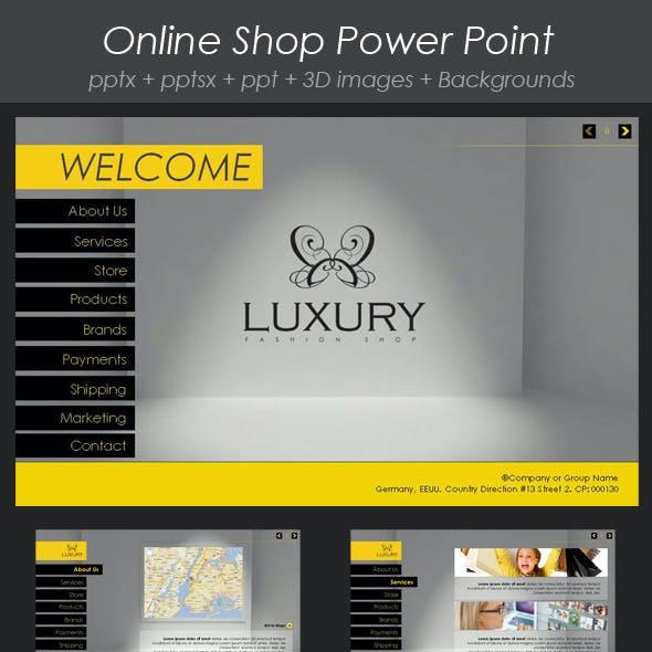 Online Shop Presentation