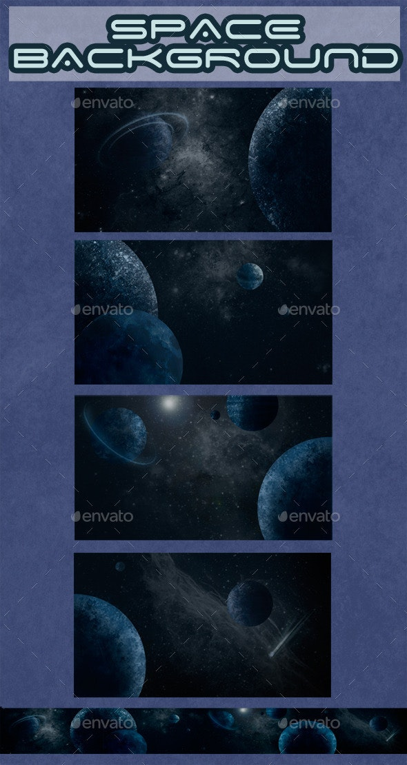 Space Background - Backgrounds Game Assets