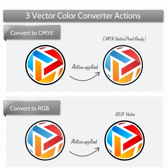 Vector Color Mode Actions