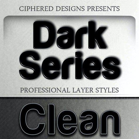 Dark Series - Professional Layer Styles