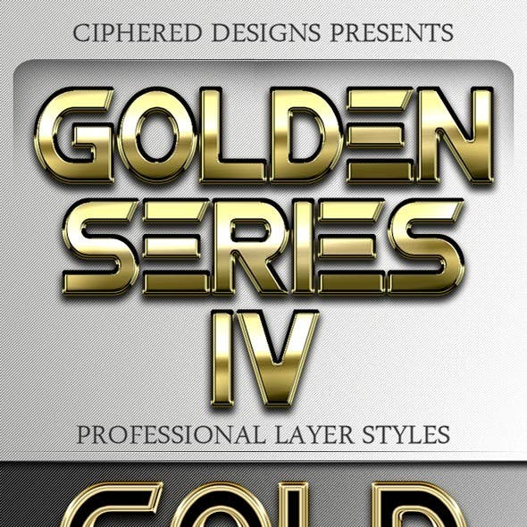 Golden Series IV - Professional Layer Styles