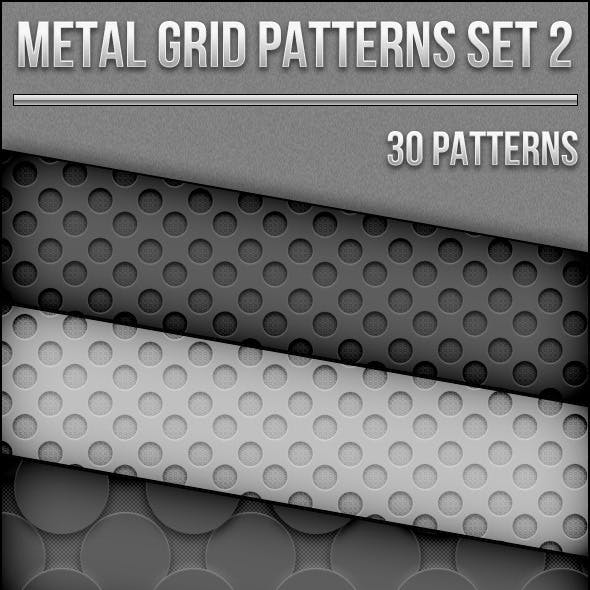 Metal Grid Patterns Set 2