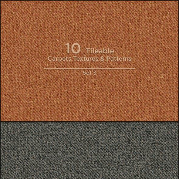 10 Tileable Carpet Textures/Patterns
