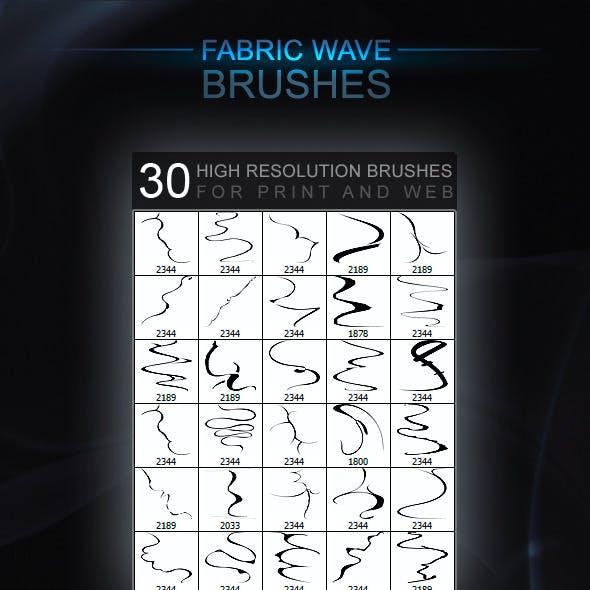 30 FabricWave Brushes