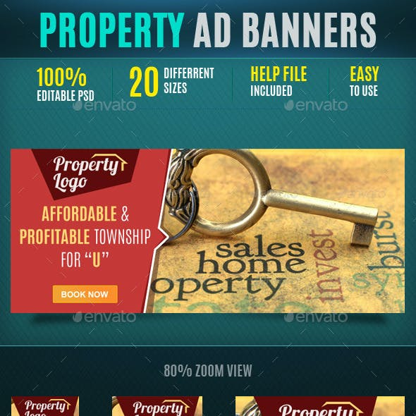 Property Web Banners