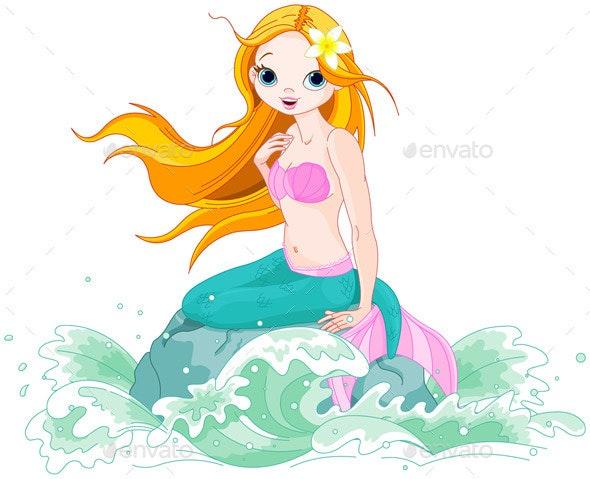 Beautiful Mermaid  - People Characters